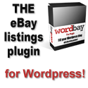 Get the Wordbay eBay WordPress plugin